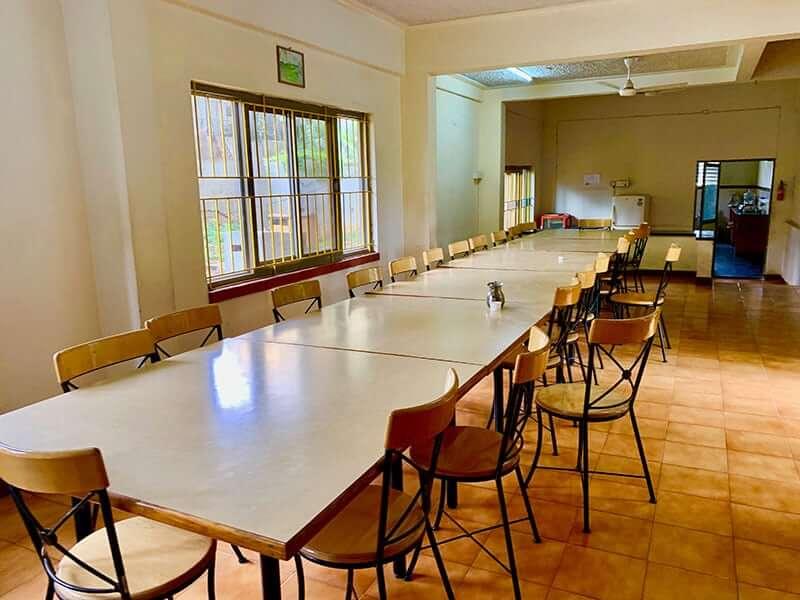 Best yoga schools in Mysore - Dining