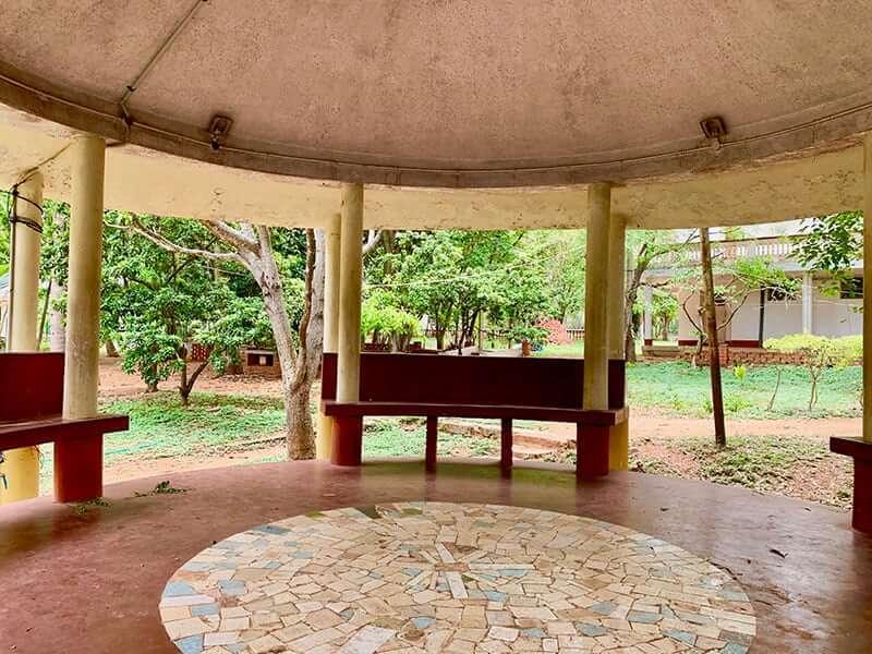 Yoga School mysore outside