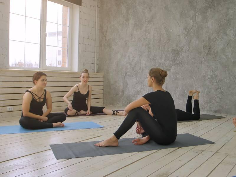 Yoga Students - Indian Yoga School
