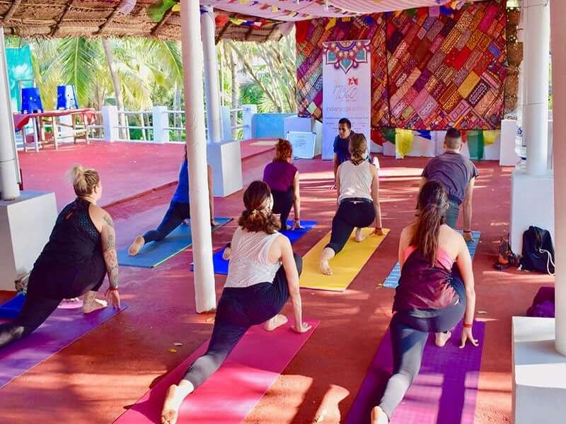 Hatha Yoga Workshop in Varkala