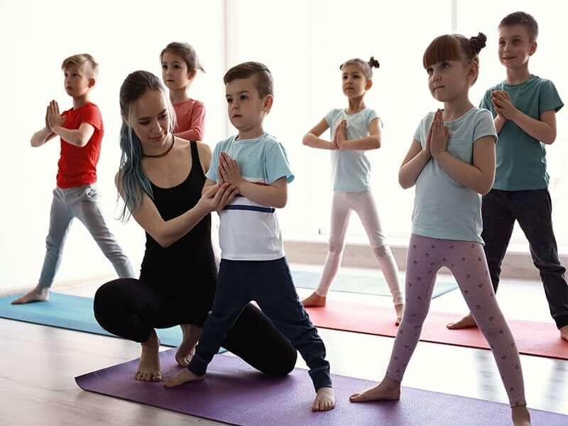Kids Yoga Classes in India