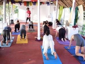 best yoga teacher training school in varkala