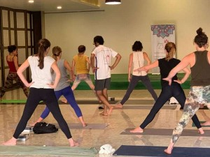 Hatha Yoga Workshop in Hampi